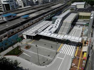 中野駅北口整備工事